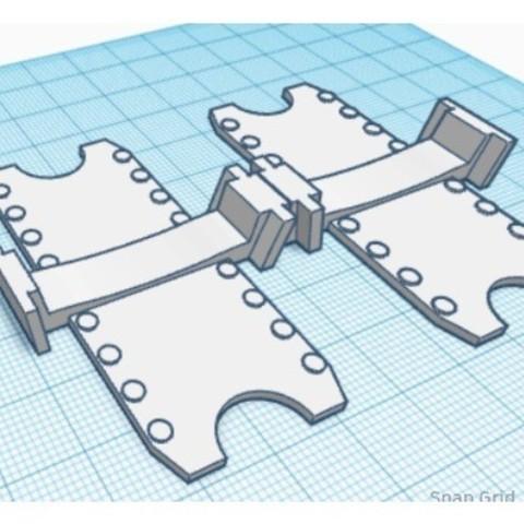 d8902969b8523a8e76e60fb776f64b4e_preview_featured.jpg Download free STL file Hot Wheels Track Connector • 3D printer template, dcarterhistory