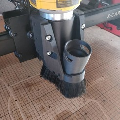 Photo principale.jpg Download STL file X-Carve Dust collector • 3D printing object, Festival