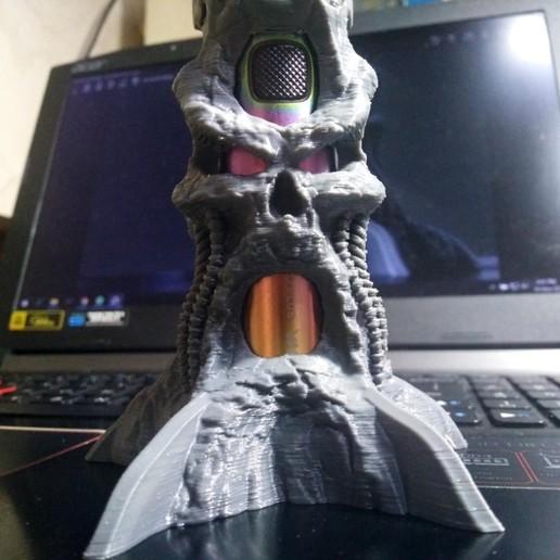 IMG_20201110_154149 (Medium).jpg Descargar archivo STL gratis Sky solo Plus Skull Base • Objeto imprimible en 3D, diegokrause