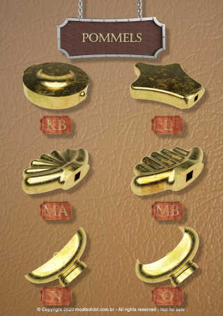 Catalog 5.jpg Download STL file The Ultimate Oakeshott's Knight Swords Pack • 3D printing template, eduardosr