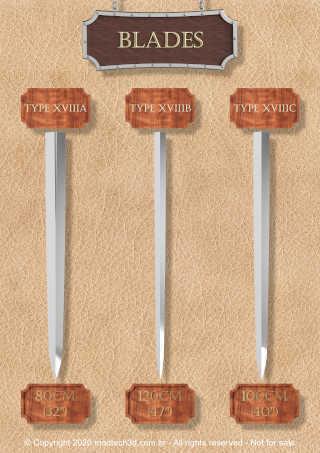 Catalog 2.jpg Download STL file The Ultimate Oakeshott's Knight Swords Pack • 3D printing template, eduardosr