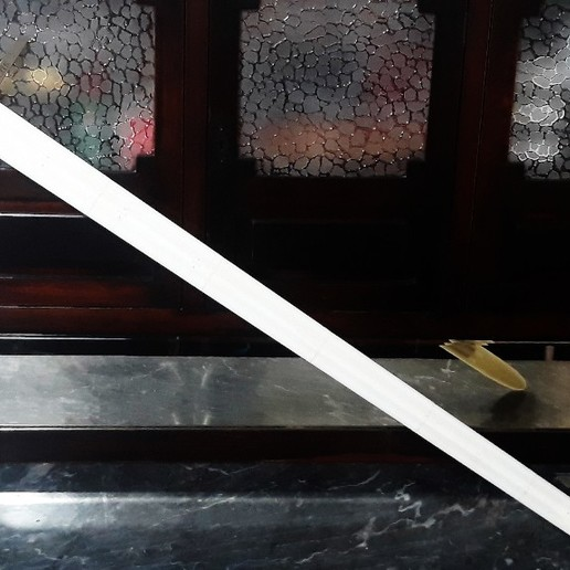 Modelo impresso.jpg Download STL file The Ultimate Oakeshott's Knight Swords Pack • 3D printing template, eduardosr