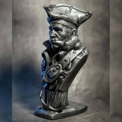 """Impresiones 3D """"Pirata y su rata"""" - Un original de Eastman, eastman"""