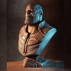 Download free 3D printer files Infinity War Thanos bust (fan art), eastman