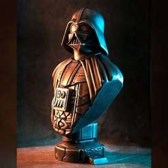 Descargar modelos 3D gratis Busto de Darth Vader (fan art), eastman