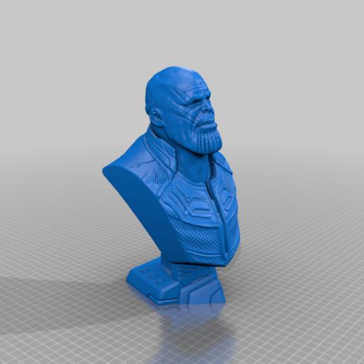 thanos-bust-by-eastman.png Télécharger fichier STL gratuit Buste de la Guerre de l'Infini Thanos (fan art) • Design imprimable en 3D, eastman