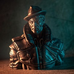"gumshoe1.jpg Download STL file ""Gumshoe"" - An Eastman Original • 3D printable object, eastman"