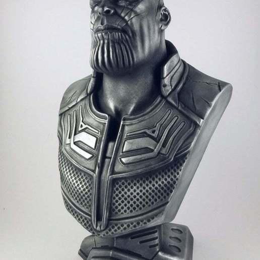 resize-thanos-iw-01.jpg Télécharger fichier STL gratuit Buste de la Guerre de l'Infini Thanos (fan art) • Design imprimable en 3D, eastman