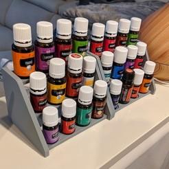 Impresiones 3D gratis Estante de aceites esenciales, ianmclein