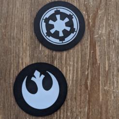 Descargar archivo 3D gratis Posavasos de Star Wars, ianmclein