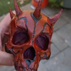 Download 3D printer designs darth maul SKULL, ianmclein