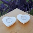 Download free 3D printer templates HEART T-LIGHT FLOATING, metac