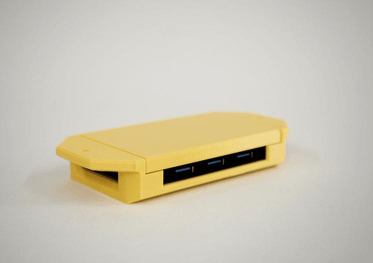 Capture d'écran 2018-07-05 à 14.14.16.png Download STL file USB Hub Housing • 3D printable object, metac