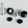Capture d'écran 2018-07-05 à 14.40.23.png Download STL file Cylindrical Knob with ISO Hex Head M8 Bolt • 3D printable design, metac