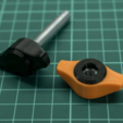 Download 3D printing models Knobs with Caps, metac