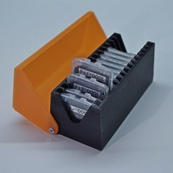 Free 3d printer designs SD Card Protective Box, metac
