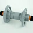 Download STL file Filament Spool Shaft w/ Proper Friction, metac