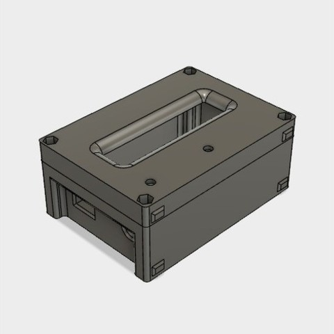 991406dd9dba72937f546ca692394817_preview_featured.jpg Download STL file 3D Print Case for Arduino Uno with LCD Shield and DHT22 • 3D printer design, metac