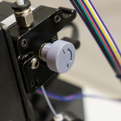 archivos stl Perillas de impulso de filamento, metac