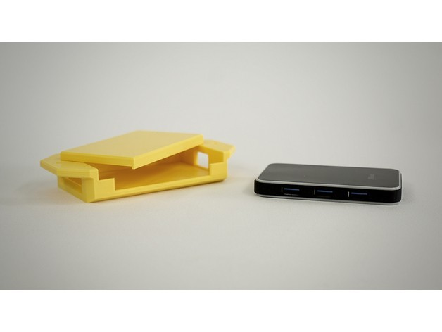 efd06a928b12cb569354b9ceb8259a97_preview_featured.jpg Download STL file USB Hub Housing • 3D printable object, metac