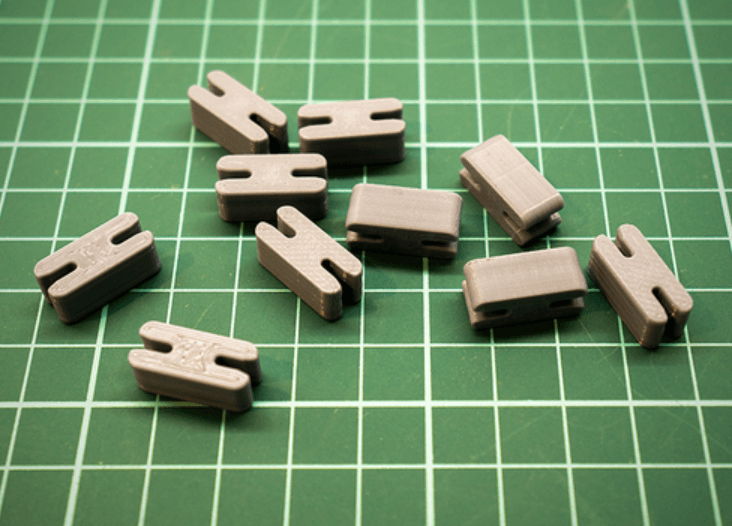 Capture d'écran 2018-07-05 à 14.16.03.png Download STL file Spool Independent Filament Wire Clip • 3D printing model, metac