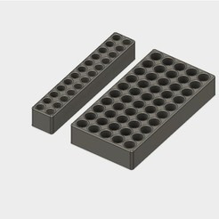 3D print files Battery Storage Box for AA and AAA sizes, metac