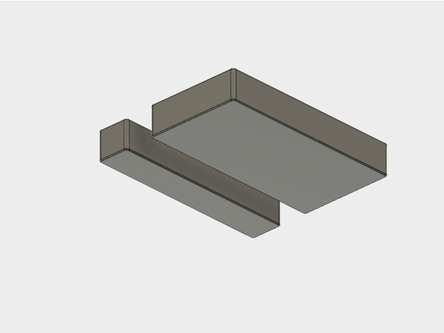 27c25b7dc67d92bcc66b8253c8f3b5f7_preview_featured.jpg Download STL file Battery Storage Box for AA and AAA sizes • Template to 3D print, metac