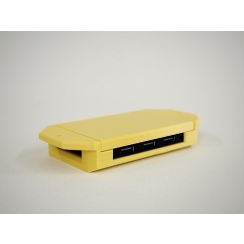 b582c4964e82fe667f2ce23c09324e73_preview_featured.jpg Download STL file USB Hub Housing • 3D printable object, metac