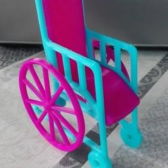 IMG_20191117_084947.jpg Download STL file Barbie kids Wheel Chair • 3D printing template, bennyvromans