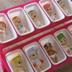 Knipsel.JPG Download STL file Baby secrets organiser • 3D printing object, bennyvromans