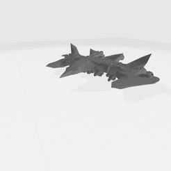 v1 stl medium.png Télécharger fichier STL vaisseaux • Plan pour imprimante 3D, jeff51gold