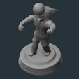 1.png Download OBJ file Zabivaka World Cup 2018 Mascot • 3D printer template, NoEvil116