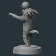 4.png Download OBJ file Zabivaka World Cup 2018 Mascot • 3D printer template, NoEvil116