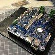 Free 3D printer designs Basic Duet Wifi Mounting Plate V-slot, Phaedrux