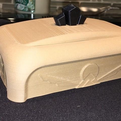 Download free 3D printing designs Art Deco Jewelry Box, Phaedrux
