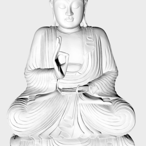 Download 3D printing templates Buddha, ceballitos1804