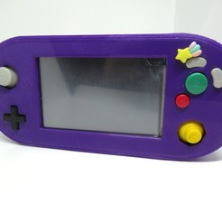 Download free 3D printer model 'Gamecube' Portable - Retropie Handheld Console, zombiekitten