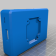 Download free STL file Raspberry Pi HQ Camera Case for RPi 3B+ • 3D print object, zombiekitten