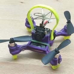 nano-quad.jpg Download free STL file 75mm micro quad frame • 3D print template, Mulder
