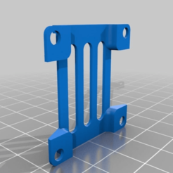 Download free 3D printer templates TBS Unify HV stack mount, Mulder