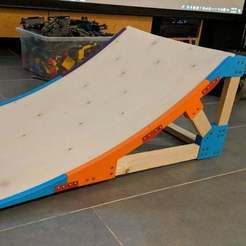 Download free STL file RC Car Ramp • 3D printer template, Mulder