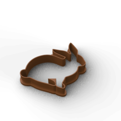 Download STL files cookie cutter bunny , 3DLuxe