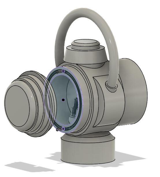 Fusion_lantern_back.jpg Download free STL file Green Lantern Ring Holder • 3D printable model, Roman_Martinez
