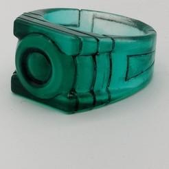 Download free STL file Green Lantern's Ring, Roman_Martinez