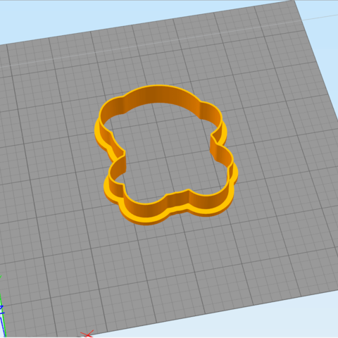 4.4.png Download STL file Bear with a small bear - COOKIE CUTTER • 3D printable design, dmitriysk3d