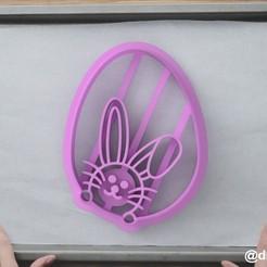 Egg and rabbit.jpg Télécharger fichier STL Formulaire pour les biscuits et le pain d'épices l'Oeuf et le lapin • Modèle à imprimer en 3D, dmitriysk3d
