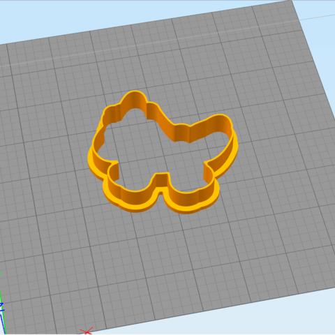 2.png Download STL file UNICORN - COOKIE CUTTER • 3D printer object, dmitriysk3d