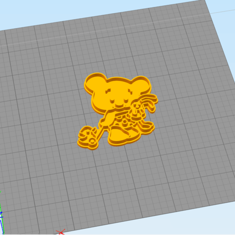 1.1.png Download STL file Сute Bear with toys - COOKIE CUTTER • 3D printable object, dmitriysk3d