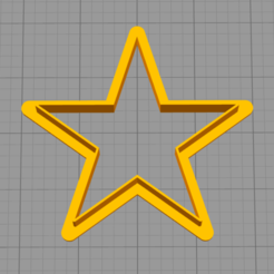 star.png Download STL file Star  - COOKIE CUTTER • 3D printer object, dmitriysk3d
