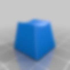 tecla_teclado.STL Télécharger fichier STL gratuit clavier à touches mécaniques - tecla de teclado mecanico • Modèle pour impression 3D, ivozulli